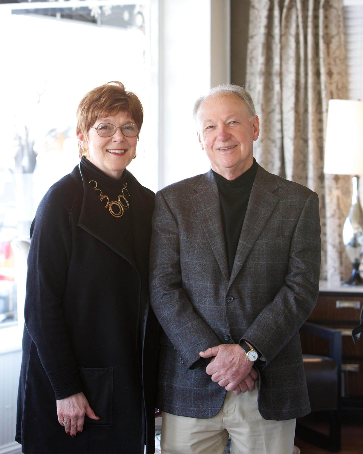 Andrea Reid and Bill Waide, Reid's furniture store founders .