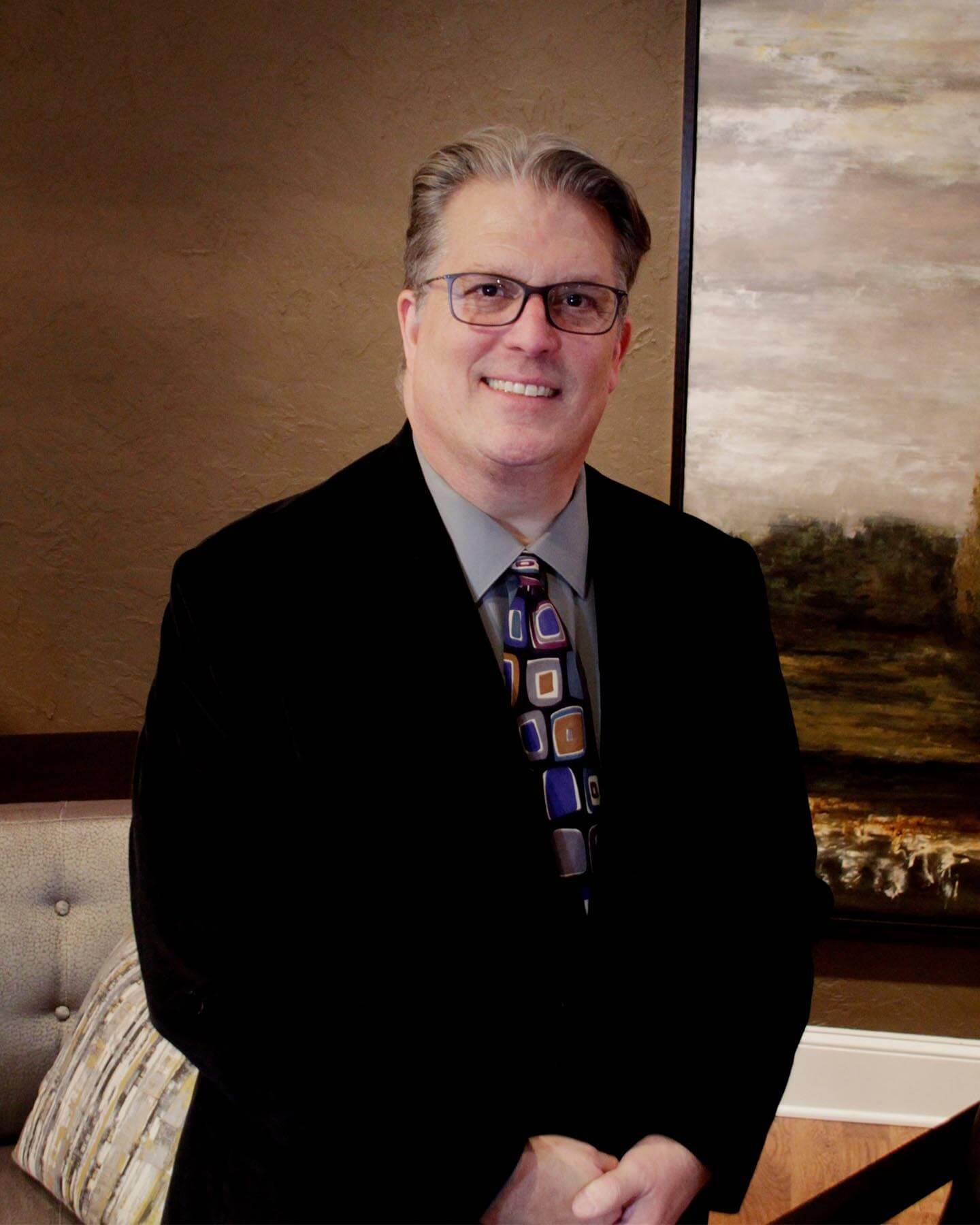 Image of Steve Parker, interior designer with Reid's Furnishing.