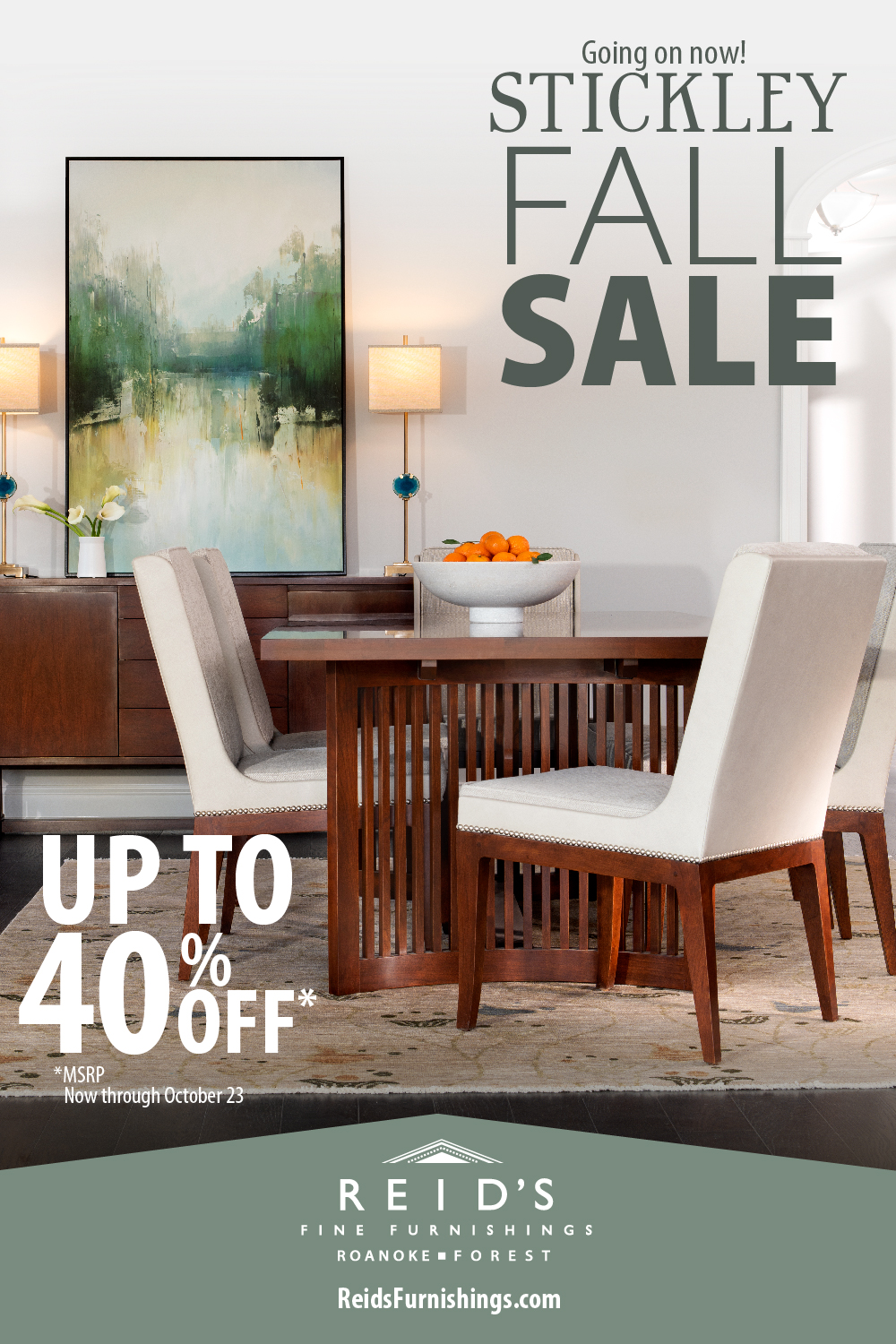 Stickley Fall Sale