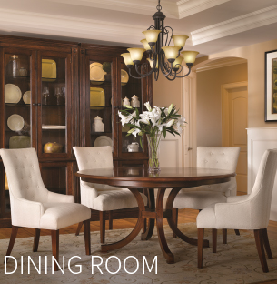 Browse our elegant Dining Room furniture selections.