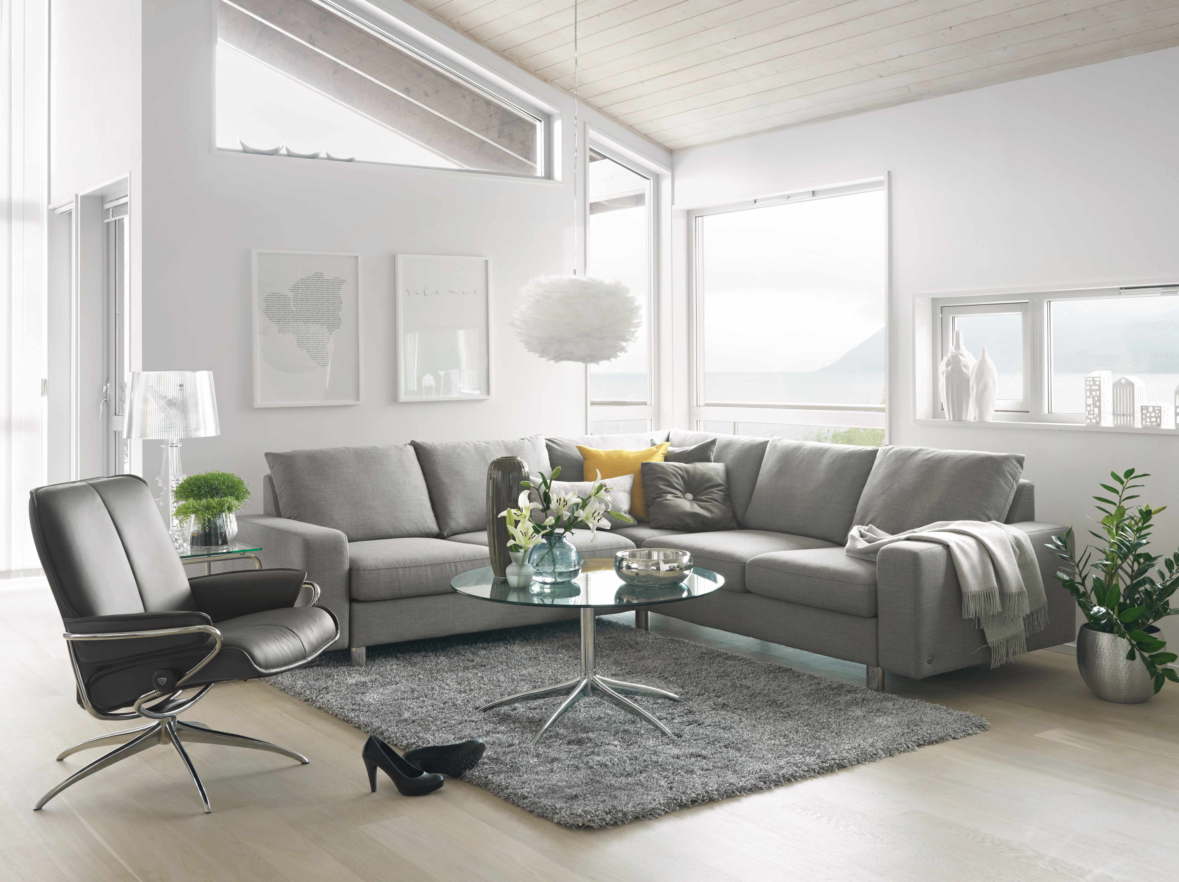 High Quality Ekornes Stressless E200 Sectional Sofa