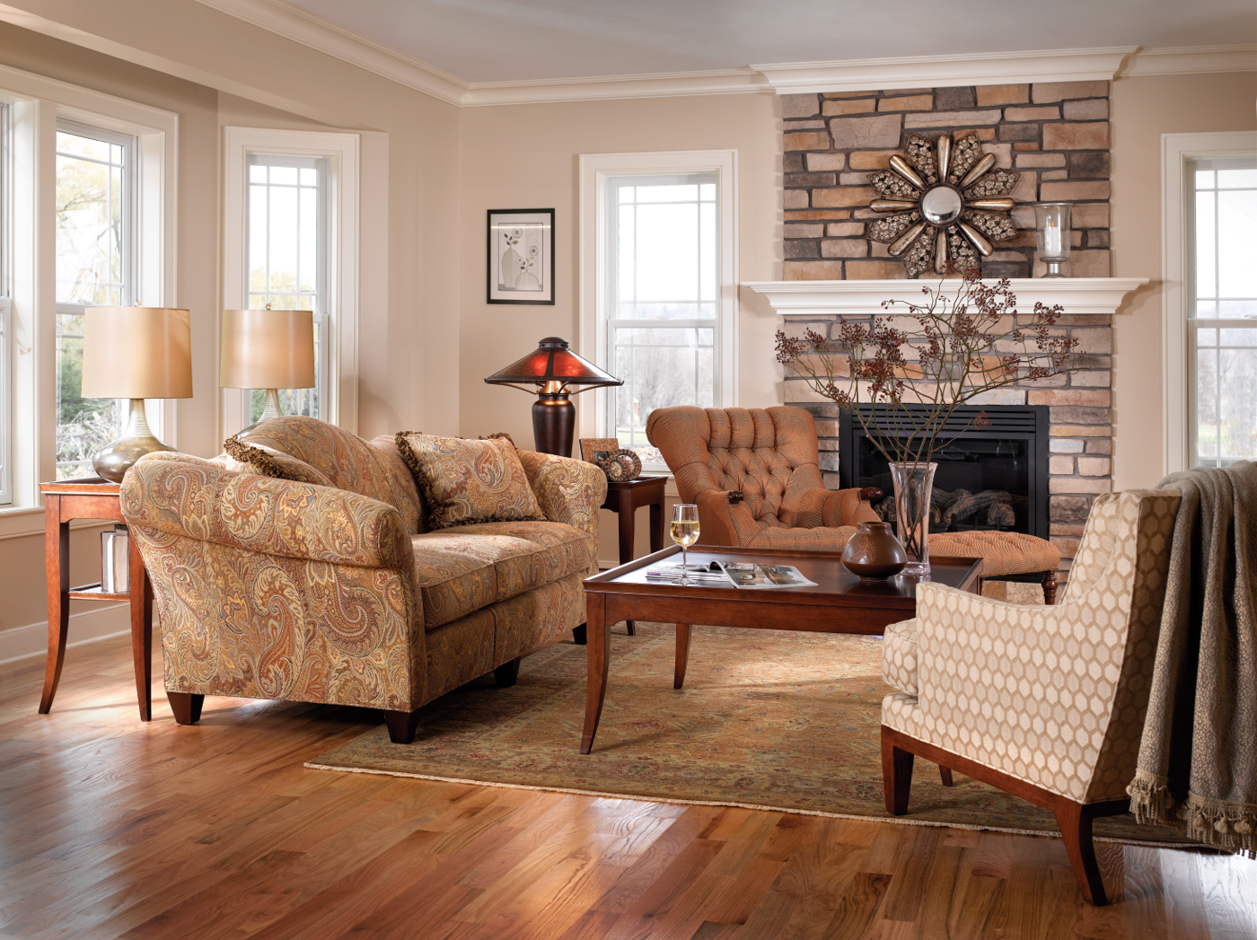 Fine Living Room Furniture. Stickley Fine Upholstery Living Room Furniture  Reid s Furnishings